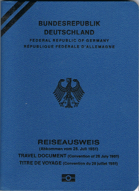 Konventionspass-Deutschland
